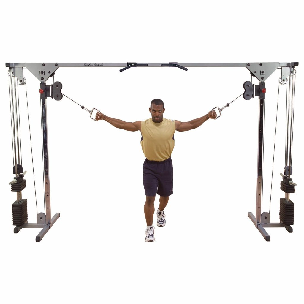 Body-Solid Cable Crossover Machine